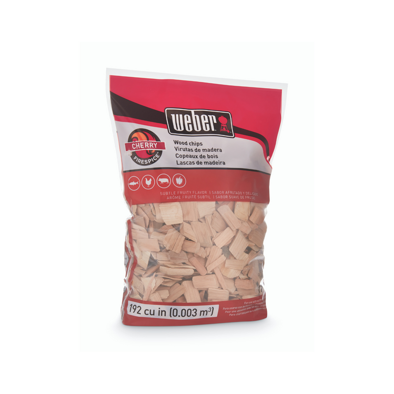 Weber Cherry Wood Chips 1.8kg