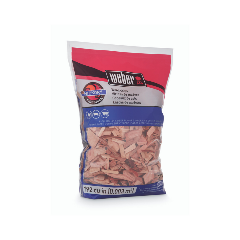Weber Hickory Wood Chips 1.8kg
