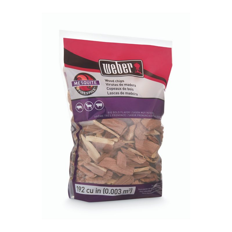 Weber Mesquite Wood Chips 900g
