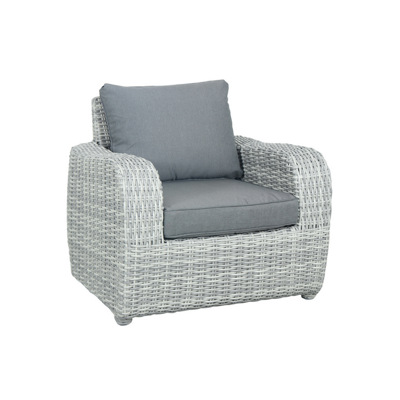 Wicker - Boca Single Sofa - Grey