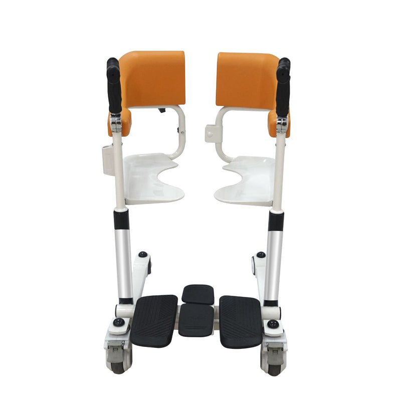 MKX 2nd Generation Manuel Lifting Transfer Chair for The Paralysed Position Moving and Bathing Easily