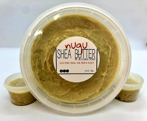 Nugu Shea Butter - 100% Pure & Organic - 200ml