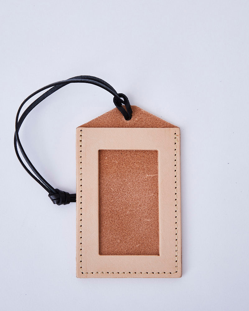 three fold TRAVEL wallet / CV20sstw020a / Oak