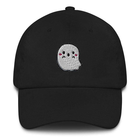 Honesteez LLC Accessory Black Ghost Graphic Embroidered Dad hat