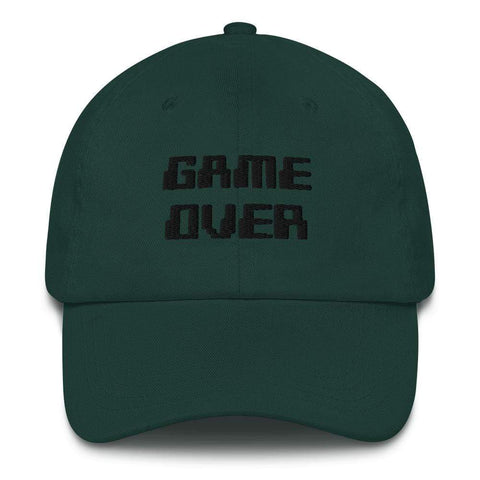Honesteez LLC Accessory Spruce Game Over Graphic Embroidered Dad hat