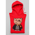 Honesteez LLC Hoodie S / Red / Pullover Hoodie (As Shown) Harry Potter Themed Bear Unisex Graphic Hoodie
