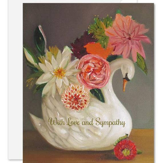 Sympathy Card - With Love