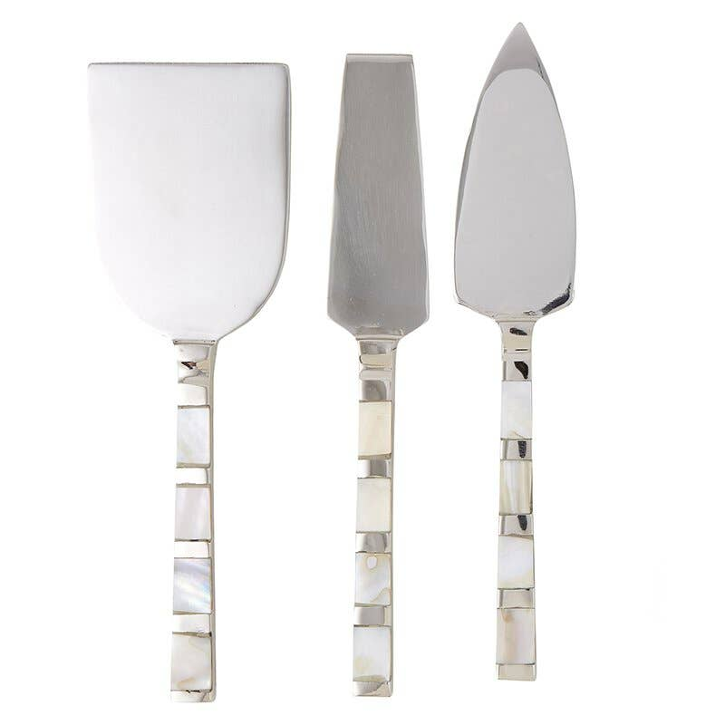 Mother of Pearl Cheese Set