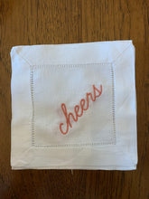 Load image into Gallery viewer, Linen Cocktail Napkins (set of 4)