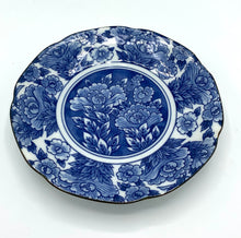 Load image into Gallery viewer, Blue & White Shallow Bowl (Vintage)