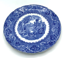 Load image into Gallery viewer, Blue & White Plate (Vintage)