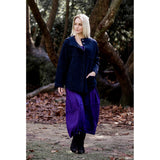 Comfort Style - Nefeli Cardigan with Pin - Blue - CHIC & SIMPLE