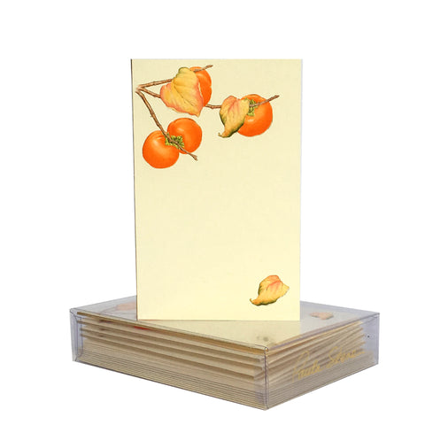 Persimmon Branch Boxed Mini Note