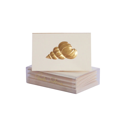Precious Shell Enclosure Cards