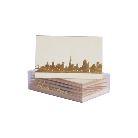 San Francisco Skyline Enclosure Cards