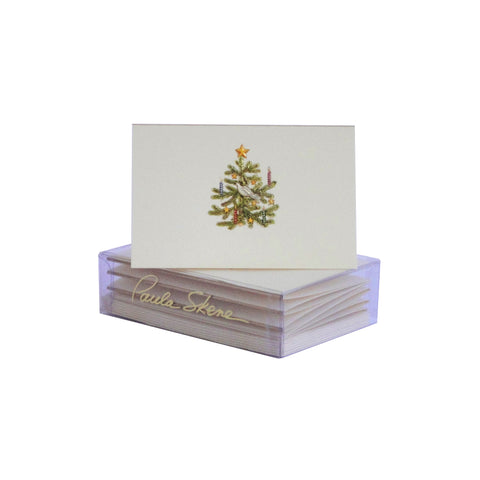 Dove & Candles Tree Enclosure Cards