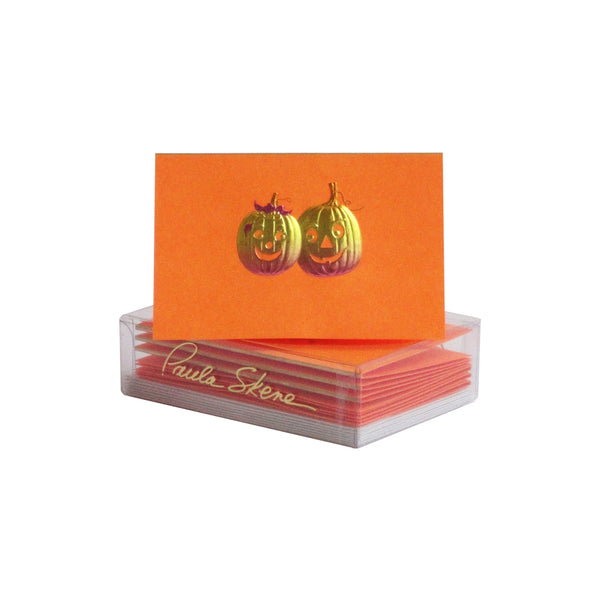 Pumpkin Duo Enclosure Cards