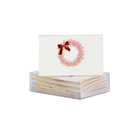Pepper Berry Wreath Enclosure Cards