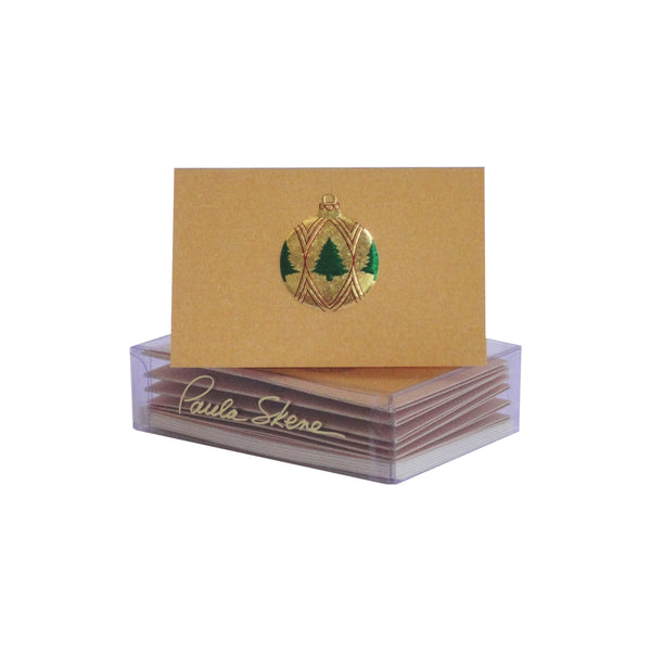 Tree Ornament Enclosure Cards