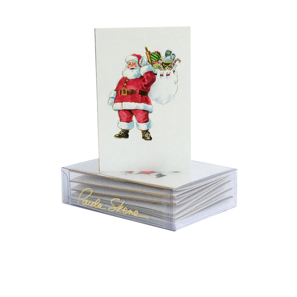 Chef Santa Enclosure Cards