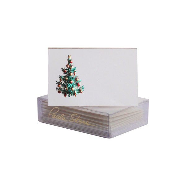 Christmas Tree Enclosure Cards