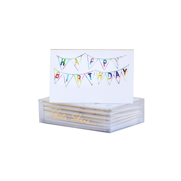 Birthday Bunting Enclosure Card