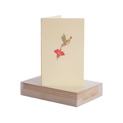 Hummingbird Boxed Mini Note