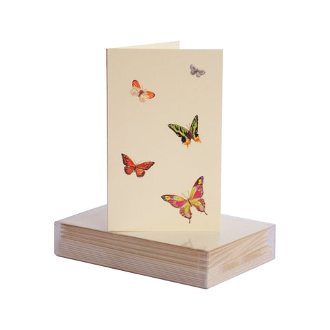 Butterfly Medley Boxed Mini Note