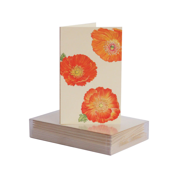Poppy Pattern Boxed Mini Note