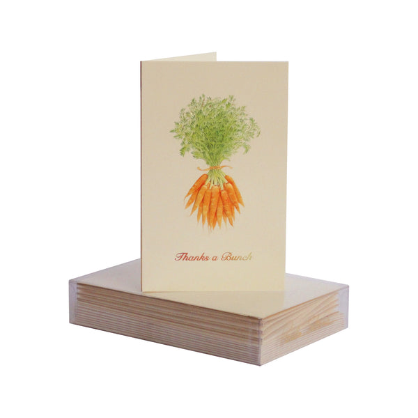 Carrots Thanks A Bunch Boxed Mini Note