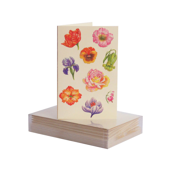 Floral Pattern Boxed Mini Note