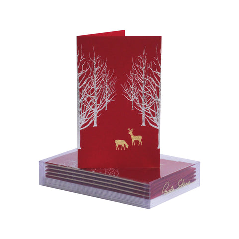Snowy Forest Boxed Mini Note