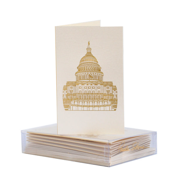 Washington D.C. Capitol Boxed Mini Note
