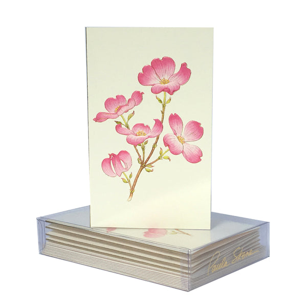 Dogwood Boxed Mini Note