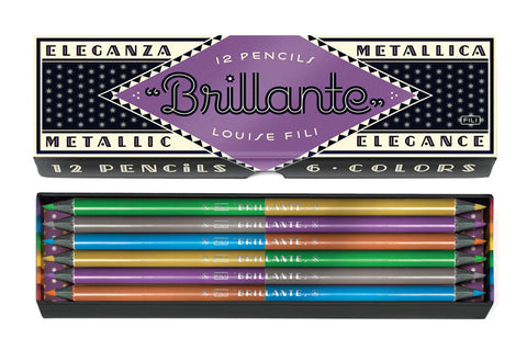 Colored Pencils Boxed Set (Brillante)