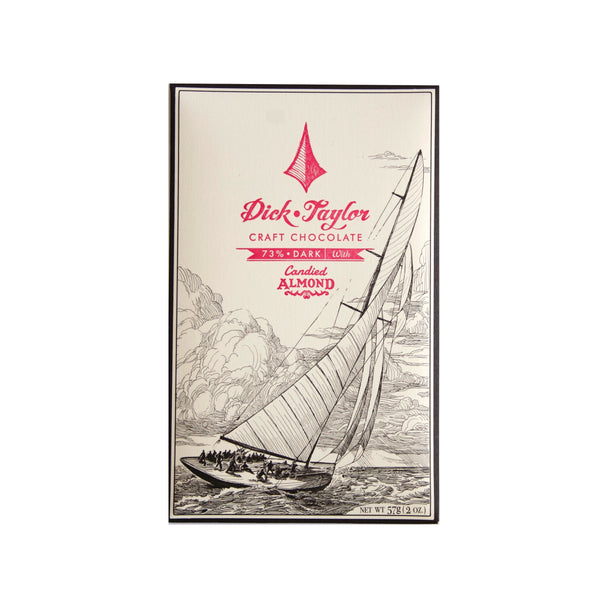 Dick Taylor Chocolate Bar - Candied Almond