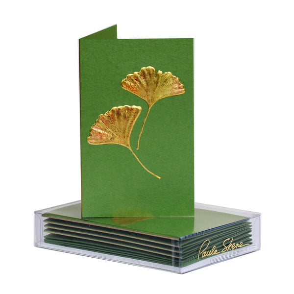 Ginkgo Boxed Mini Note