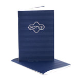 Notes (Navy) Full Size Notebook