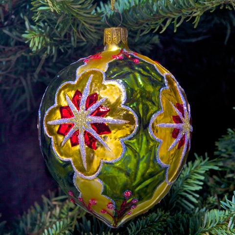 Holly Ornament - Green