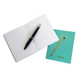 Peacock Quill Pocket Notebook