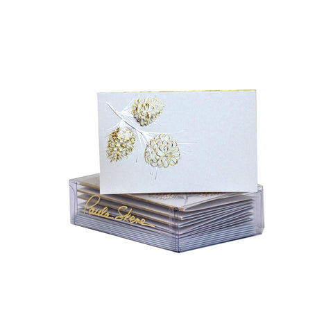 Pine Cone Enclosure Cards