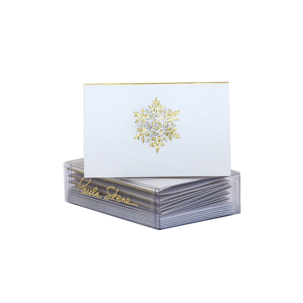 Snowflake Enclosure Cards