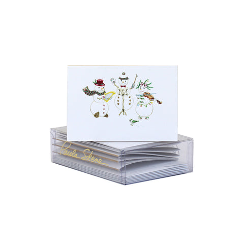 Musical Snowmen Enclosure Cards