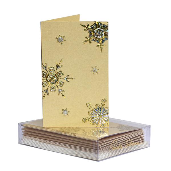 Snowflake Medley Boxed Mini Note