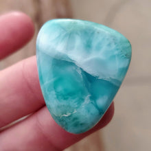 Load image into Gallery viewer, Larimar Cabochon