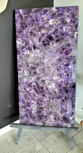Chevron Amethyst Table Top