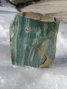 "3"" Gary Green Jasper Freestanding (Larsonite)"