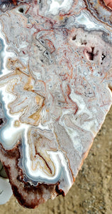 Crazy Lace Agate Polished Slab | Mexico