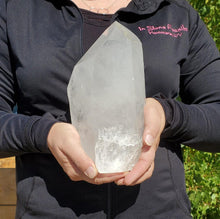 Load image into Gallery viewer, Large Clear Quartz Point