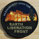 In Solidarity With The Earth Liberation Front Patch